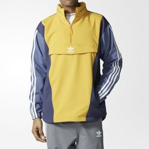 Adidas originals Blocked Anorak Hoodie  Zip up